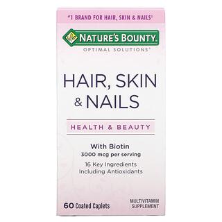 Nature's Bounty, Hair, Skin & Nails, 60 Coated Caplets