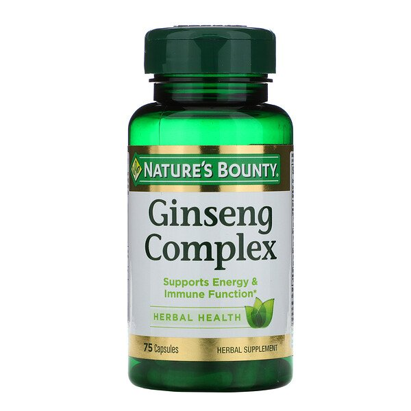 Ginseng Complex, 75 Capsules