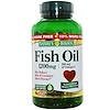 Nature's Bounty, Fish Oil, 1200 mg, 200 Rapid Release Softgels