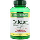 Отзывы о Nature's Bounty, Absorbable Calcium With Vitamin D3, 1200 mg, 120 Softgels