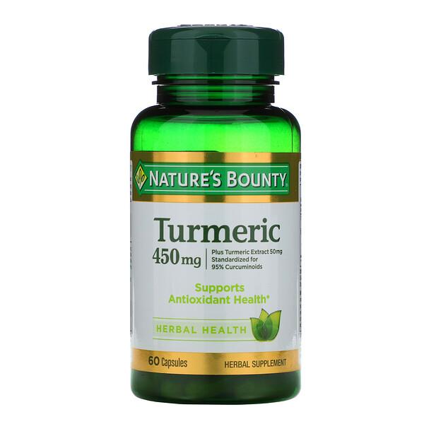 Turmeric, 450 mg, 60 Capsules