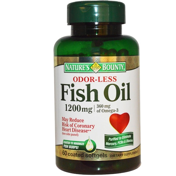 Nature S Bounty Fish Oil Coated Softgels