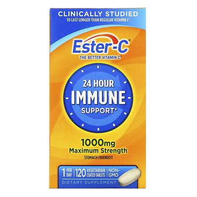 Купить Nature's Bounty Ester-C, 1000мг, 120вегетарианских таблеток в оболочке