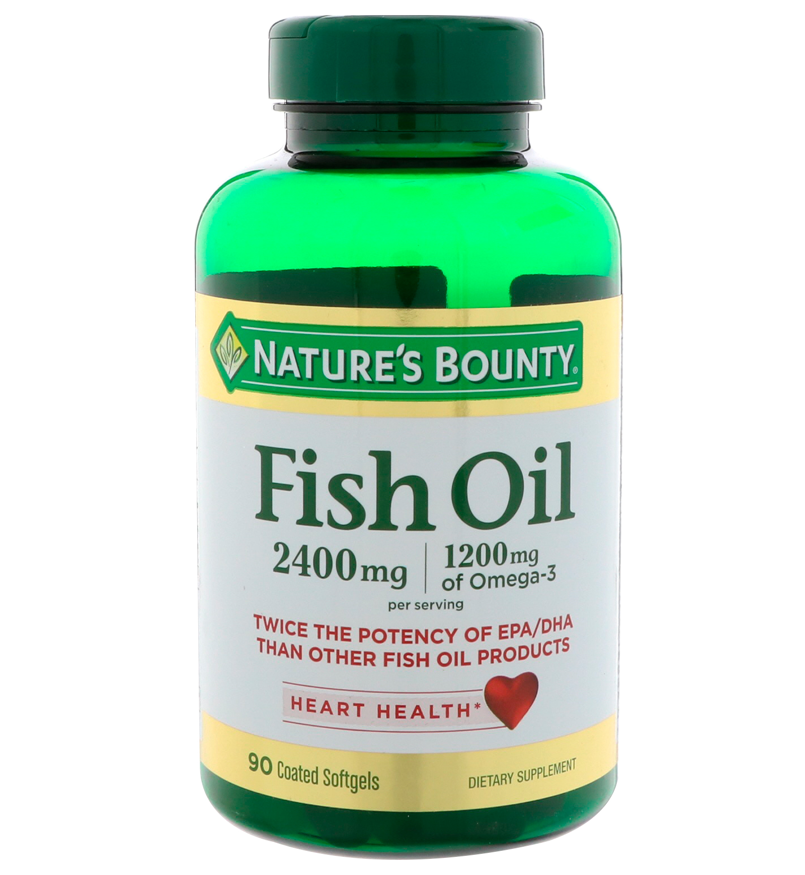 Nature 39 s bounty 2400 90 for Nature bounty fish oil