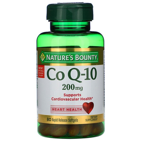 Co Q-10, 200 mg, 80 Rapid Release Softgels