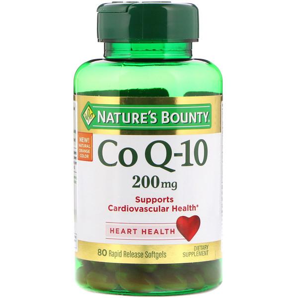 Co Q-10, 200 mg, 80 Rapid Release Softgels