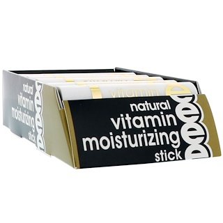 Nature's Bounty, Natural Vitamin E Moisturizing Stick, 12 Moisturizing Sticks