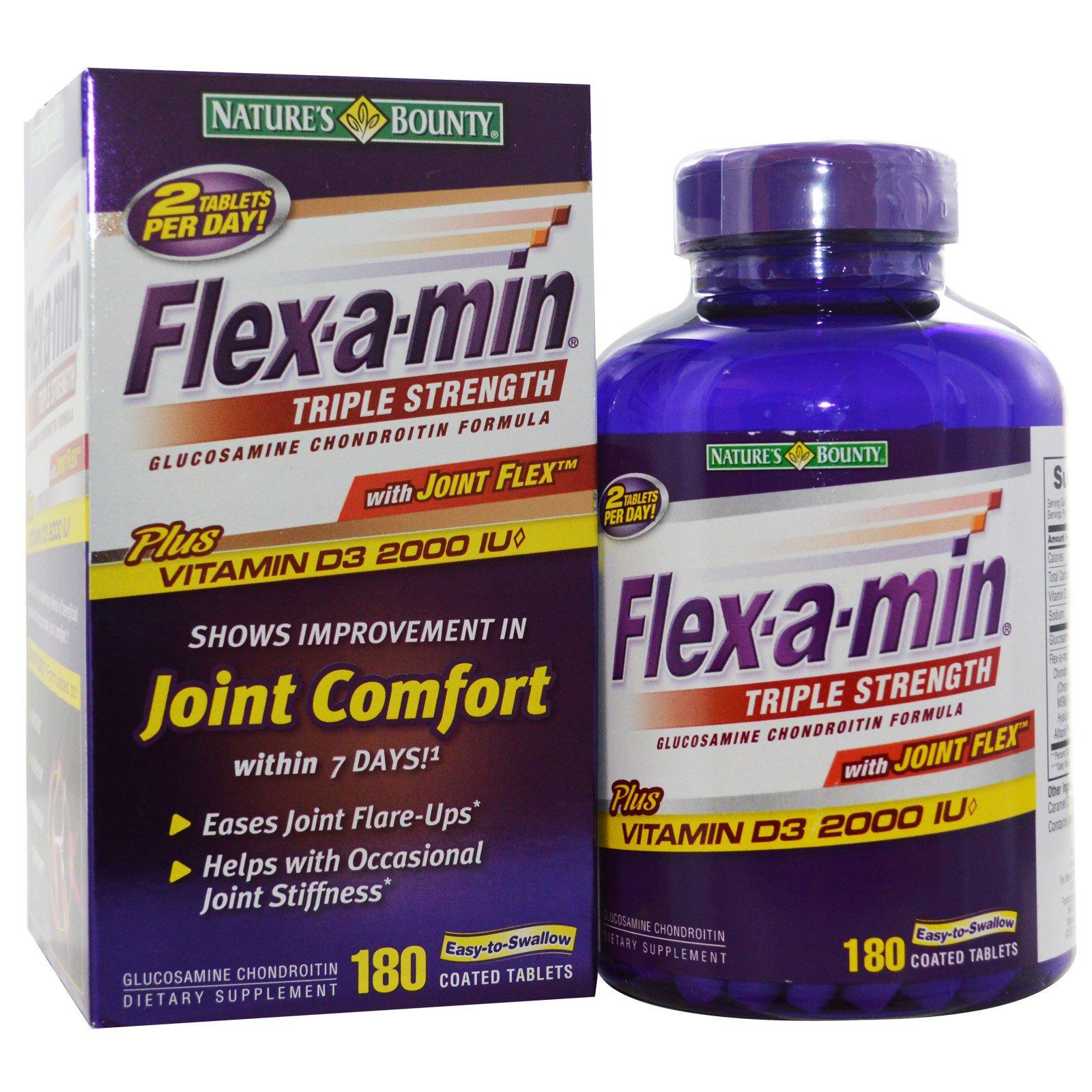 Flex-a-min triple strength