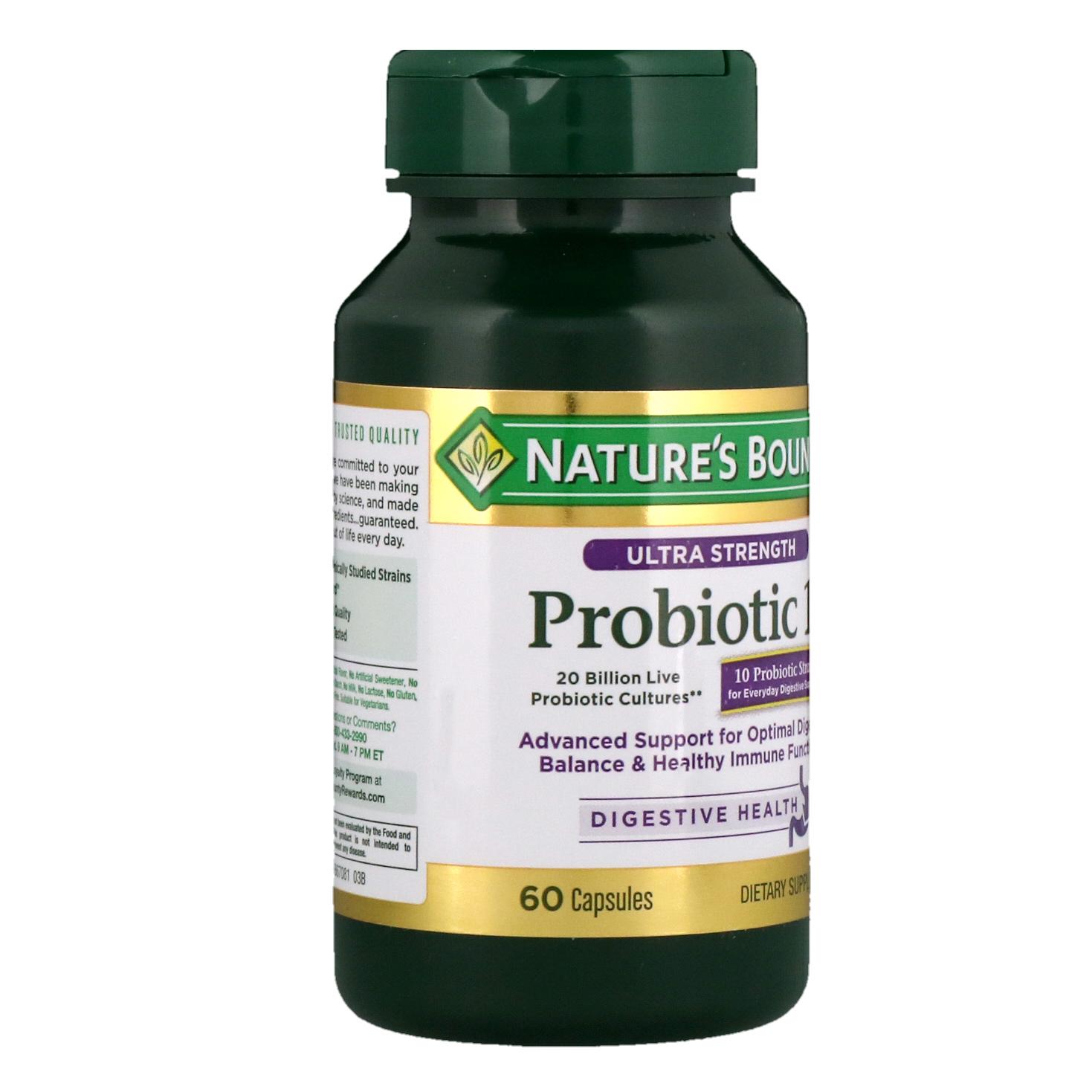 Best Probiotic Nature S Bounty