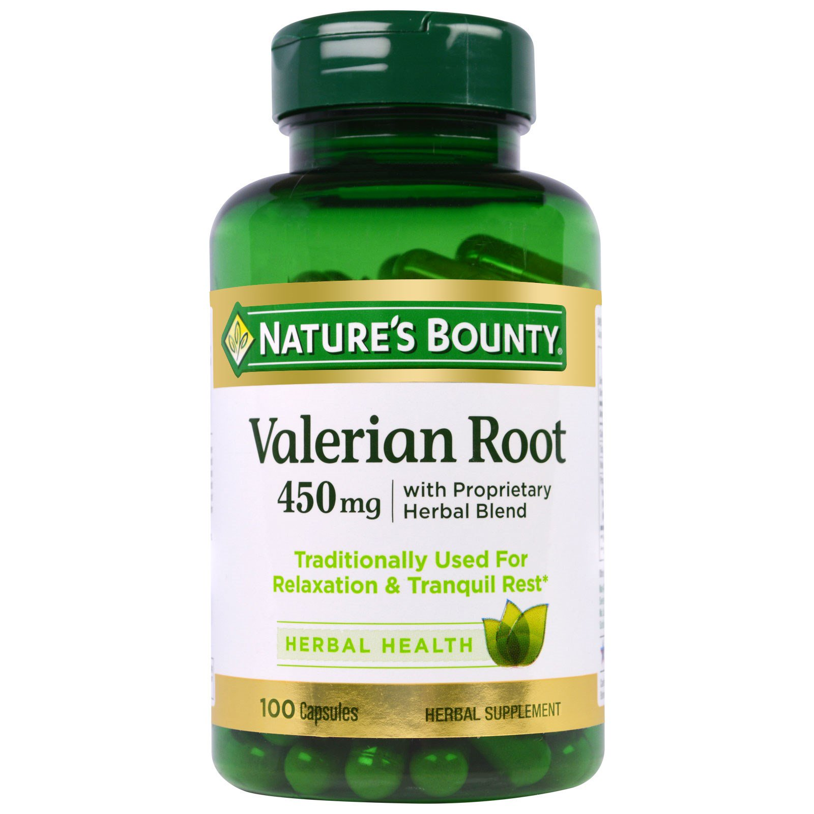 Nature 39 s bounty valerian root with proprietary herbal for Nature s bounty fish oil review