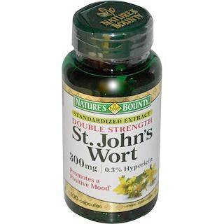 Nature's Bounty, St. John's Wort, 300 mg, 100 Capsules