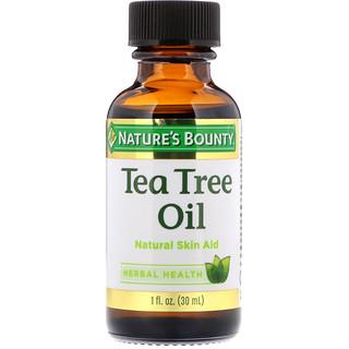 Nature's Bounty, Tea Tree Oil, 1 fl oz (30 ml)