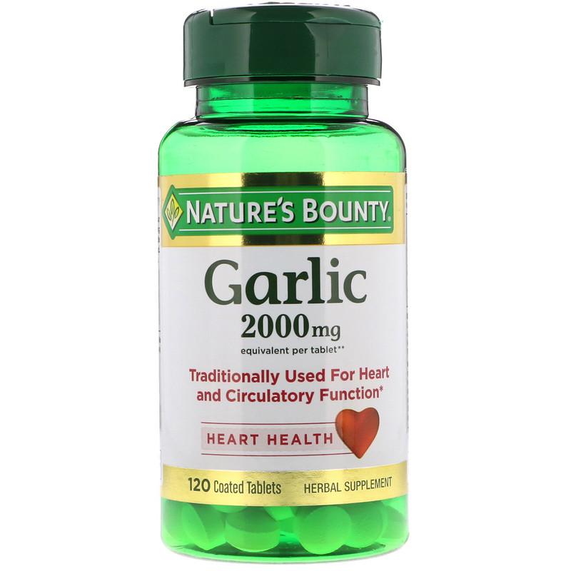 Garlic, 2,000 mg, 120 Coated Tablets