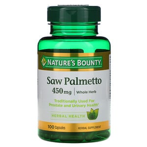 Натурес Баунти, Saw Palmetto, 450 mg, 100 Capsules отзывы покупателей