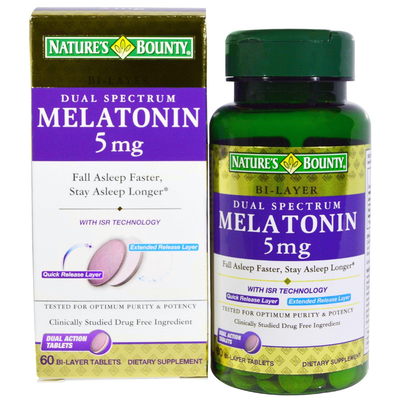 Nature S Bounty Dual Spectrum Melatonin Reviews