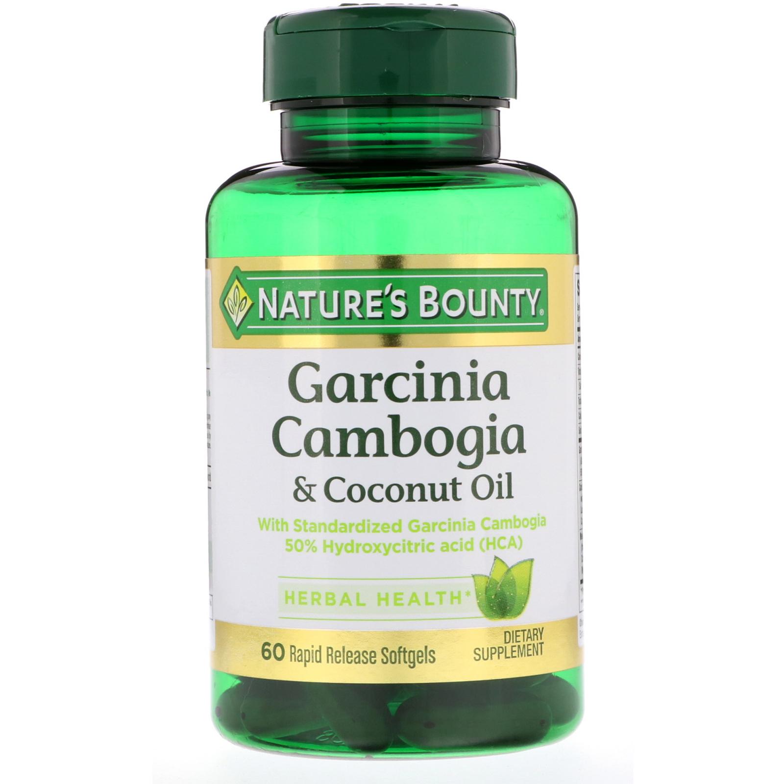 Nature S Bounty Garcinia Cambogia Reviews
