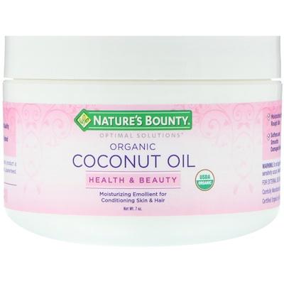 Органическое кокосовое масло, 7 унц.