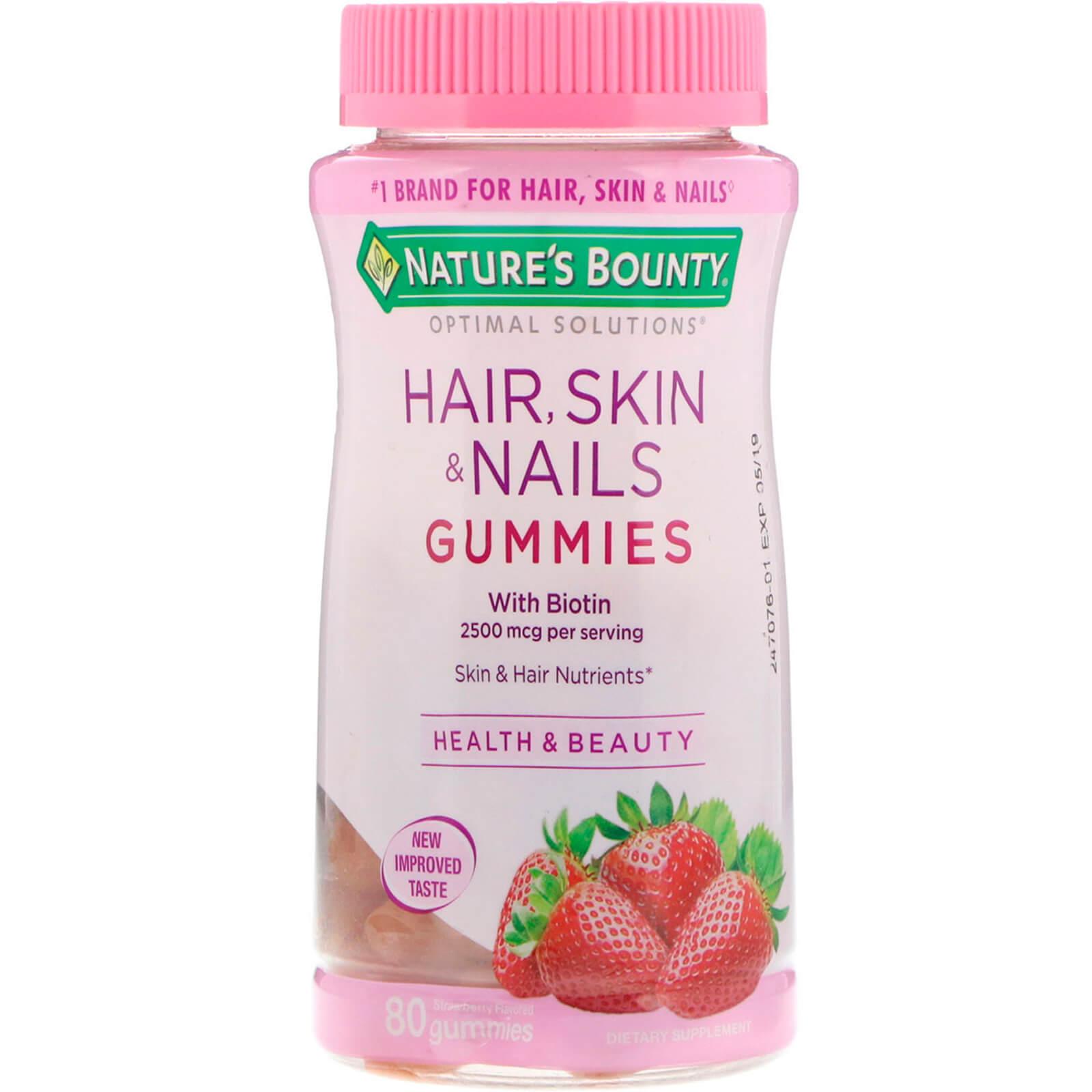 Nature S Bounty Optimal Solutions Hair Skin Nails