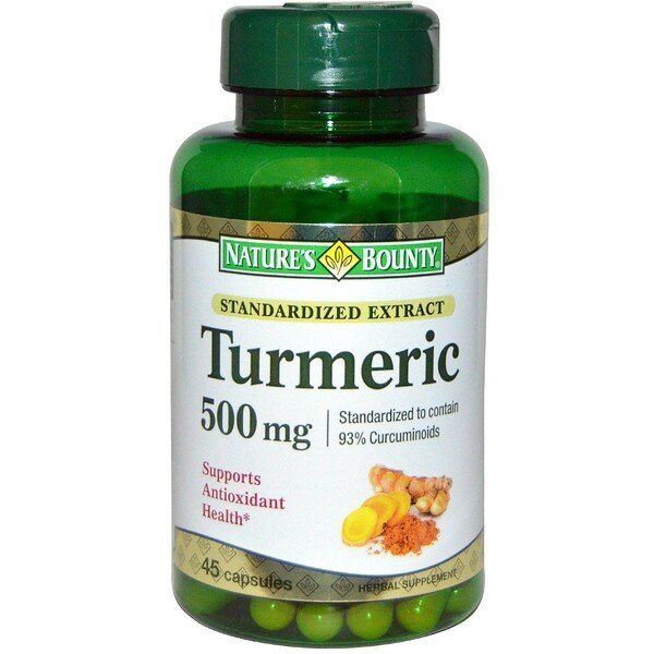 Nature S Bounty Turmeric  Mg Review