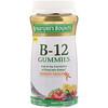 Nature's Bounty, 維生素 B-12 軟糖,樹莓,混合漿果和香橙味,90 粒軟糖