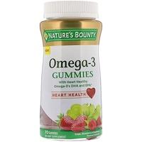 Жевательные таблетки с Омега-3, виноград, со вкусом клубники и малины, 70 жевательных таблеток - фото