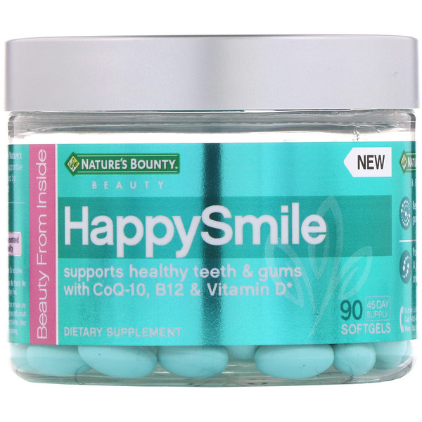 Nature's Bounty, HappySmile、90ソフトジェル