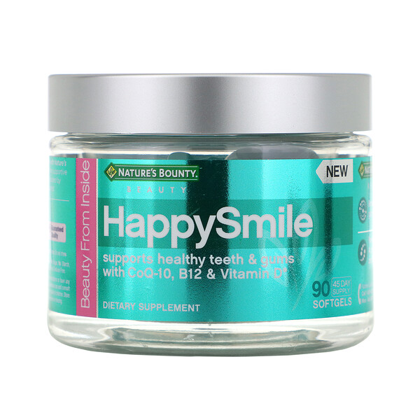 Nature's Bounty, HappySmile, 90 Softgels (Discontinued Item)