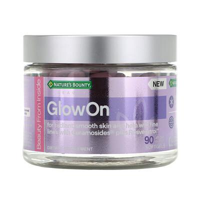 Купить Nature's Bounty GlowOn, 90 мягких таблеток