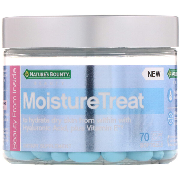 Nature's Bounty, MoistureTreat, 70 Softgels