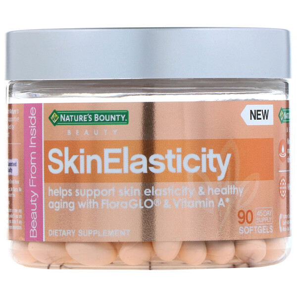 Nature's Bounty, SkinElasticity, 90 мягких таблеток