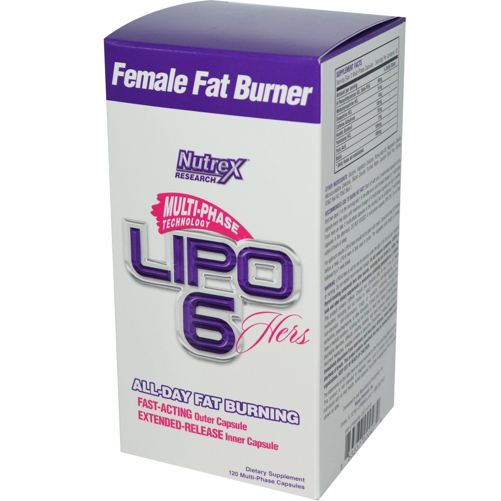 lipo 6 hers fat burner review