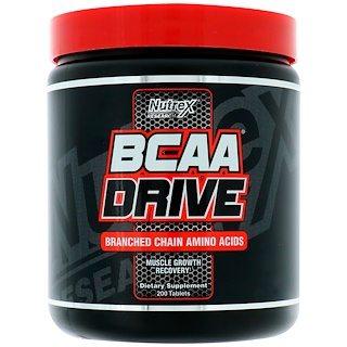 Nutrex Research Labs, BCAA Drive, 200 Tablets