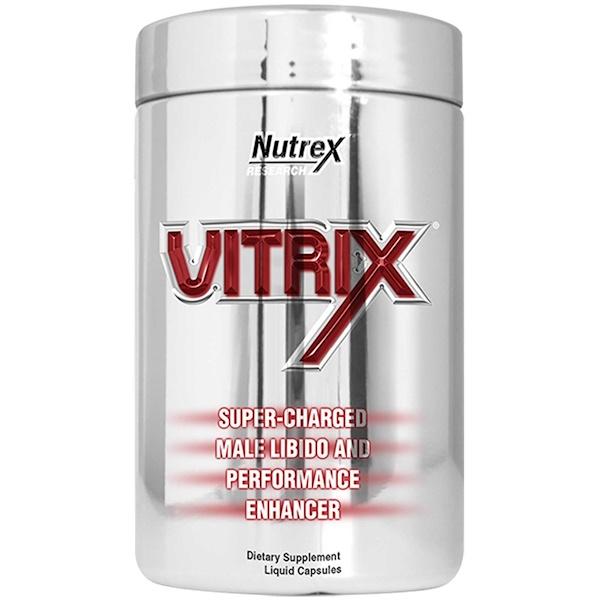 Nutrex Research Labs, Vitrix Maximum Impact, 90 Liqui-Caps (Discontinued Item)