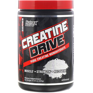 Nutrex Research, Creatine Drive, Unflavored, 10.58 oz (300 g)
