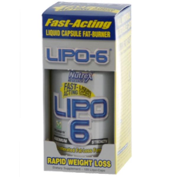 Nutrex Research, Lipo-6 Maximum Strength, 120 Liqui-Caps (Discontinued Item)