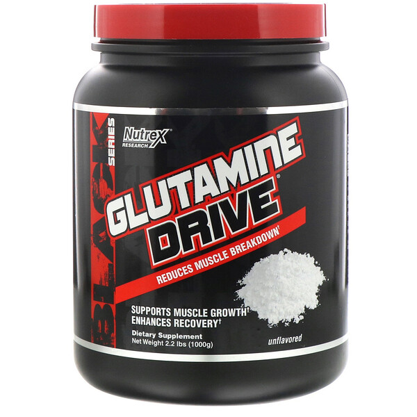 Nutrex Research, GLUTAMINE DRIVE, Unflavored, 2.2 lbs (1000 g)