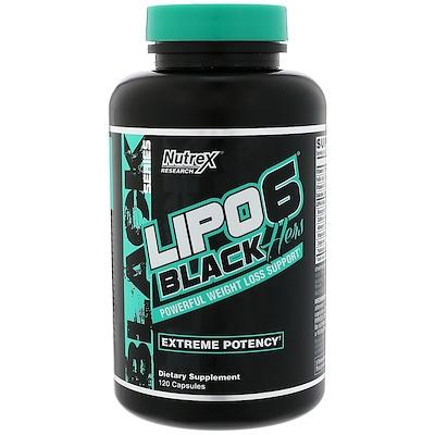 Lipo-6 Black, Hers, максимальная эффективность, 120 капсул