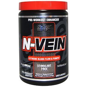 Нутрекс Ресерч Лаб, N-Vein, Pre-Workout Enhancer, Unflavored, 11.2 oz (318 g) отзывы