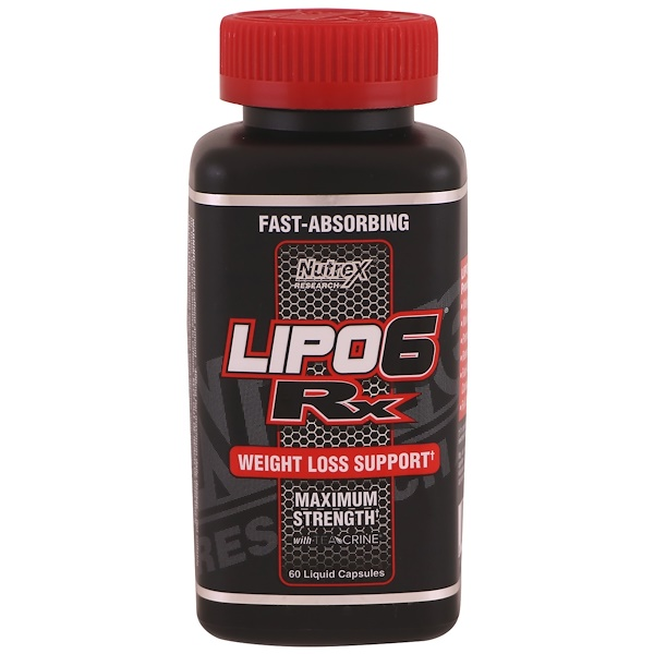 Nutrex Research Labs, Lipo 6 Rx , 60 Liquid Capsules (Discontinued Item)