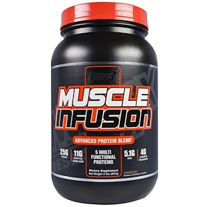 Нутрекс Ресерч Лаб, Muscle Infusion,  Advanced Protein Blend, Chocolate, 2 lbs (907 g) отзывы покупателей