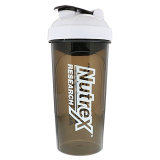 Nutrex Research Labs, Shaker Cup, Black & White, 30 oz