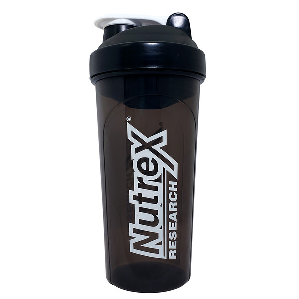 Nutrex Research, Shaker Cup, Black & White, 30 oz
