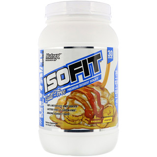 Nutrex Research, Isofit, Banana Foster, 2.2 lbs (990 g)