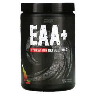Nutrex Research, EAA+ Hydration, Apple Pear, 13.8 oz (390 g)