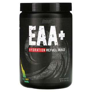 Nutrex Research, EAA+ Hydration, добавка для гидратации с незаменимыми аминокислотами, со вкусом Maui Twist, 390г (13,8унции)