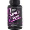 Nutrex Research, LIPO-6 Black Keto,高级配方,60 粒黑色胶囊