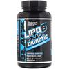 Nutrex Research, مدر البول LIPO-6 الأسود، 80 كبسولة سوداء