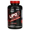 Nutrex Research, LIPO-6 Black, Extreme Potency, 120 Black-Caps