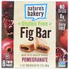Nature's Bakery, Barra de higo libre de gluten, granada, 6 paquetes dobles, 2 oz cada una