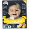 NosH!, Baby Munchables, Organic Teething Wafers, Banana & Mango, 13 Packs, 0.14 oz (4 g) Each